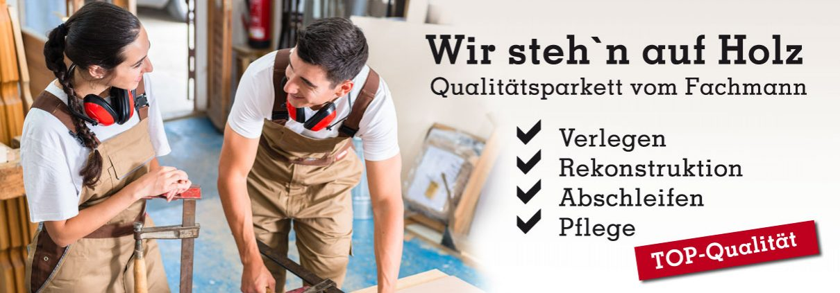 Parkettboden verlegen, schleifen, versiegeln - RABE GmbH